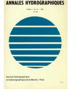 Annales hydrographiques 757