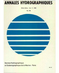 Annales hydrographiques 758