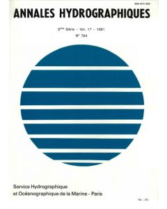 Annales hydrographiques 764