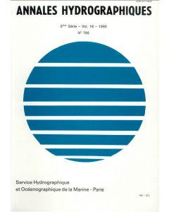 Annales hydrographiques 765