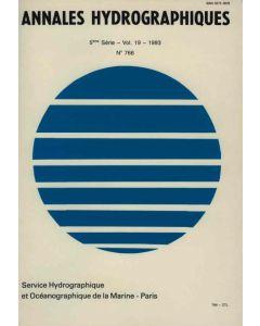 Annales hydrographiques 766