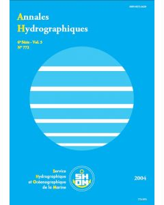 Annales hydrographiques 772