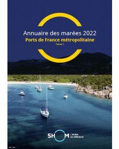 Annuaire des marées 2022 – Tome 1