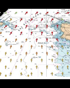 Courants de marée 2D