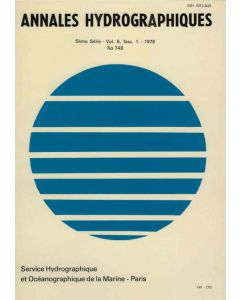Annales hydrographiques n°748 (1978)