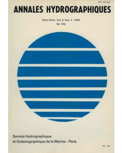 Annales hydrographiques n°749 (1978)