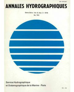 Annales hydrographiques n°750 (1978)