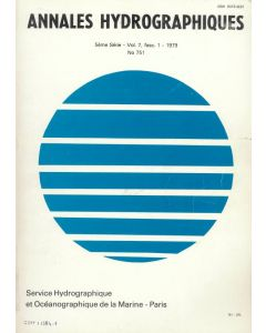 Annales hydrographiques n°751 (1979)