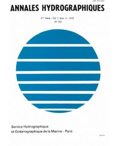 Annales hydrographiques n°753 (1979)