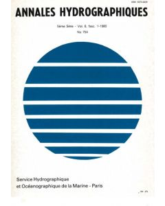 Annales hydrographiques n°754 (1980)
