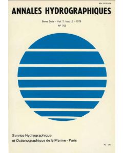 Annales hydrographiques n°752 (1979)