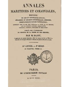 Annales Maritimes et Coloniales 1831 - Tome2
