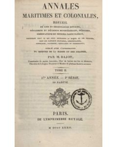 Annales Maritimes et Coloniales 1832 - Tome2
