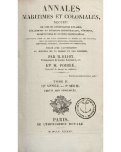 Annales Maritimes et Coloniales 1834 - Tome2