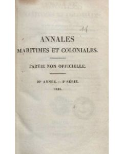 Annales Maritimes et Coloniales 1835 - Tome2