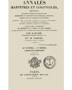 Annales Maritimes et Coloniales 1836 - Tome2