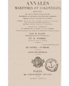 Annales maritimes et coloniales 1837 - Tome2