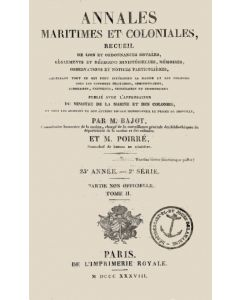 Annales Maritimes et Coloniales 1838 - Tome2