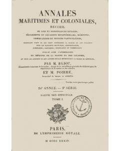 Annales maritimes et coloniales 1839 - Tome1