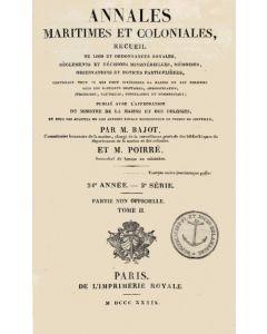 Annales maritimes et coloniales 1839 - Tome2