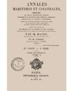 Annales maritimes et coloniales 1840 - Tome1