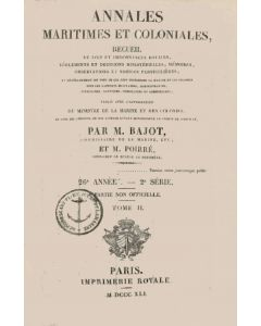Annales maritimes et coloniales 1841 - Tome2