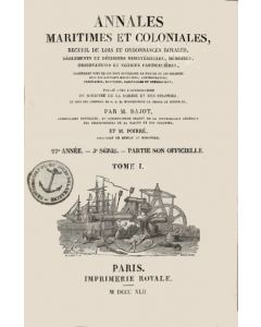 Annales maritimes et coloniales 1842 - Tome1