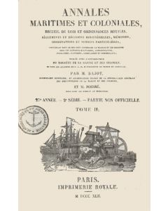 Annales maritimes et coloniales 1842 - Tome2