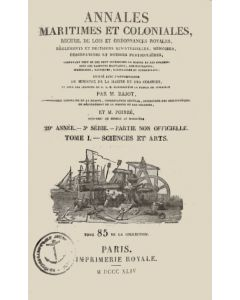 Annales maritimes et coloniales 1844 - Tome1