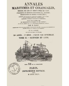 Annales maritimes et coloniales 1844 - Tome2
