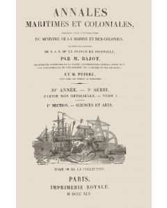 Annales maritimes et coloniales 1845 - Tome1