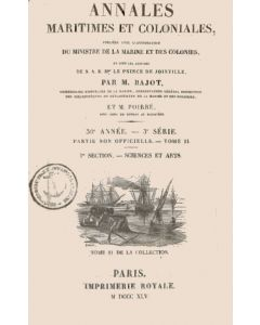 Annales maritimes et coloniales 1845 - Tome2