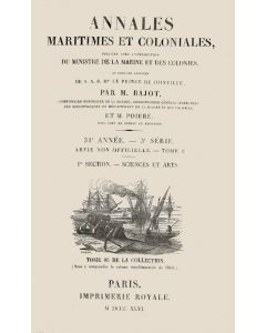 Annales maritimes et coloniales 1846 - Tome1