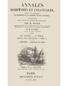 Annales maritimes et coloniales 1846