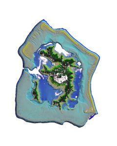 Lidar Polynésie française 2015 Bora Bora
