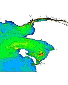 Courants de marée 3D - Estuaire de la Loire