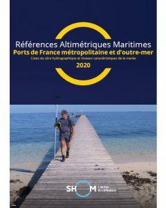 Cet ouvrage propose les cotes des zéros hydrographiques dans les systèmes de référence altimétriques légaux et les niveaux caractéristiques de la marée pour les ports de France métropolitaine et d'outre-mer