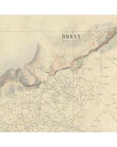 Rade de Brest et ses abords en 1820