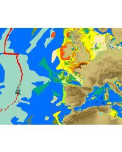 Carte sédimentaire mondiale