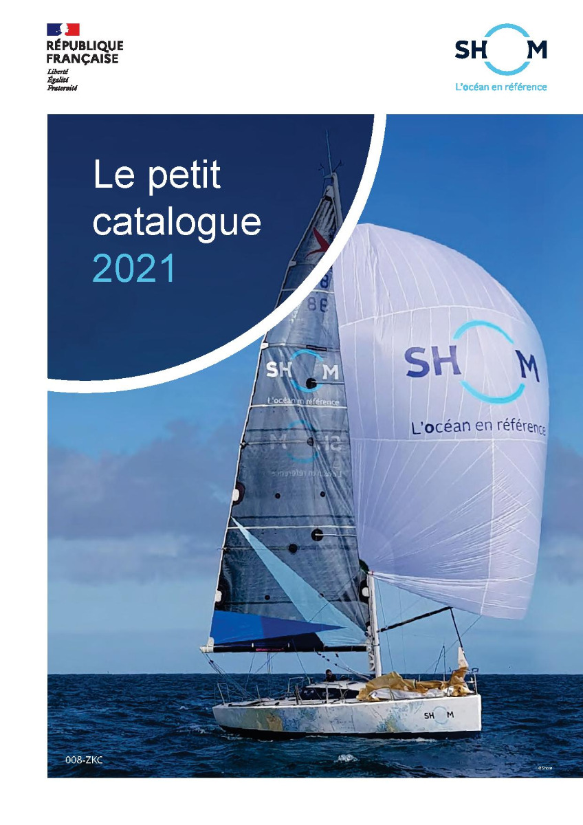 Petit catalogue  Shom 2021